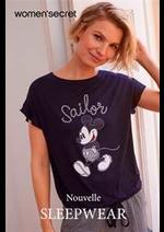 Catalogues et collections Women'secret : Nouvelle Sleepwear