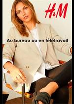 Catalogues et collections H&M : Au bureau ou en teletravail
