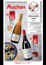 Prospectus Auchan : La cave des meilleurs vins