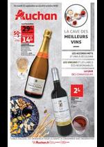 Prospectus Auchan Supermarché : La cave des meilleurs vins