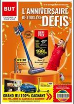 Prospectus  : L'ANNIVERSAIRE DE TOUS LES DÉFIS
