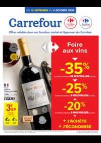 Promos et remises Carrefour Market ANDENNE : folder Carrefour Market