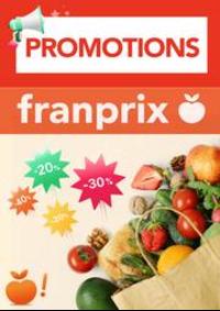 Prospectus Franprix PARIS 11 rue Adolphe Mille : Promotions Franprix