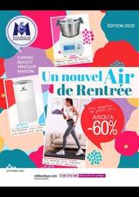 Prospectus M6 Boutique Paris Bastille : Un nouvel Air de Rentrée
