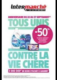 Prospectus Intermarché Super Choisy-Le-Roi : TOUS UNIS CONTRE LA VIE CHÈRE