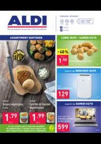 Prospectus Aldi GEMBLOUX LONZEE : Folder Aldi