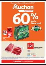Prospectus Auchan Supermarché : Les indispensables de l'automne
