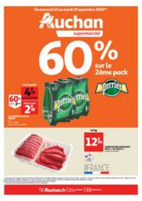 Prospectus Auchan Supermarché Paris 12 Reuilly : Les indispensables de l'automne