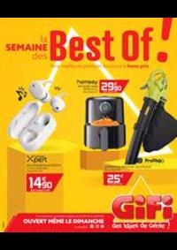 Prospectus Gifi LONGPONT SUR ORGE : La semaine des Best of!