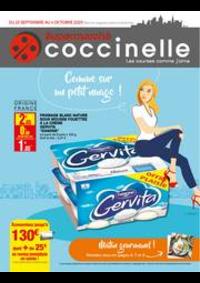 Prospectus Coccinelle Supermarché ROMAINVILLE : Catalogue Coccinelle