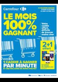 Prospectus Carrefour Drancy : Le mois 100% gagnant #2