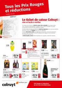 Prospectus Colruyt HALLE : Tous les Prix Rouges et reductions