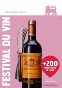 Prospectus Supermarché Delhaize Laeken : Festival Du Vin