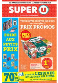 Prospectus Super U CHATOU : Catalogue Super U
