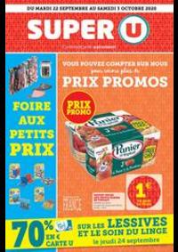 Promos et remises Super U VINZIER : Catalogue Super U