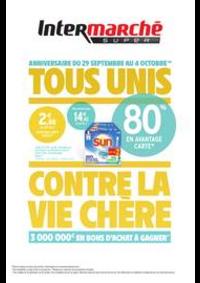 Prospectus Intermarché Super Buc : TOUS UNIS CONTRE LA VIE CHÈRE
