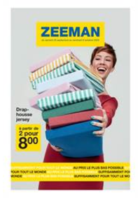 Prospectus Zeeman Sevran : Promos Zeeman