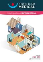 Prospectus Distri Club Medical : Vente & location de matériel médical
