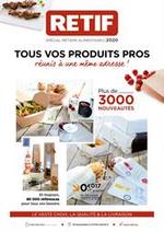 Prospectus Retif : Métiers alimentaires 2020