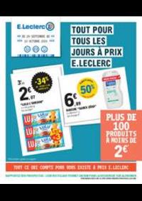Prospectus E.Leclerc LA COLLE SUR LOUP : Catalogue E.Leclerc