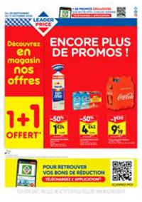 Prospectus Leader Price : Encore plus de promos!