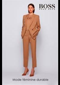 Prospectus Hugo Boss BRUXELLES  : Mode feminine durable