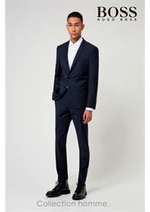 Catalogues et collections Hugo Boss : Collection homme
