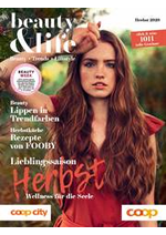 Journaux et magazines Coop Supermarché : Beauty & Life - Herbst 2020