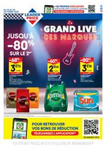 Promos et remises  : Le grand live des marques