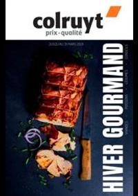 Prospectus Colruyt : Hiver gourmand