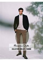 Prospectus Massimo Dutti : Collection Join Life / Homme