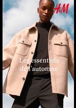 Catalogues et collections H&M : Les essentiels de l'automne