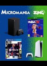 Prospectus Micromania : Nouveautés Micromania
