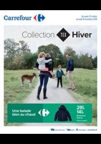 Prospectus Carrefour Drancy : Collection HIVER