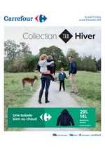 Prospectus Carrefour : Collection HIVER