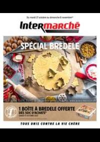 Prospectus Intermarché Super Bartenheim : SPÉCIAL BREDELE