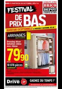 Promos et remises Brico Depot NANTERRE : Catalogue Brico Dépôt