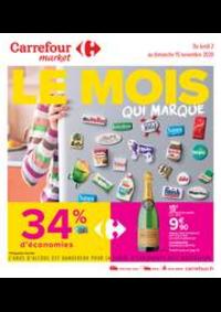 Promos et remises Carrefour Market MARSEILLE : Le mois qui marque