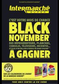 Prospectus Intermarché Super Nanterre : BLACK NOVEMBER