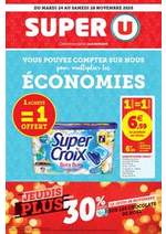 Prospectus Super U : Catalogue Super U