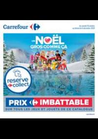 Prospectus Carrefour CHAMBOURCY : Découvrez nos jouets de noël !