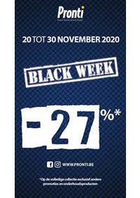 Promos et remises Pronti Waterloo : Offre Pronti Black Friday