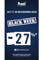 Promos et remises Pronti : Offre Pronti Black Friday