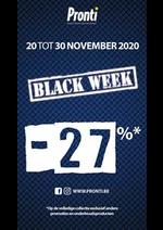 Promos et remises Pronti : Offre Pronti Black Friday