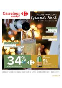 Prospectus Carrefour Market TREMBLAY EN FRANCE : Petites attentions Grand Noël