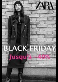 Catalogues et collections ZARA ROISSY-EN-FRANCE : Jusqu'a 40% Zara Black Friday
