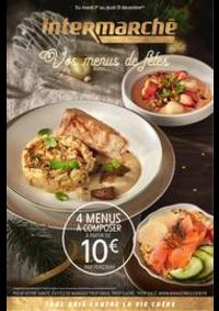 Prospectus Intermarché Super Neuilly Plaisance : Vos menus de fêtes