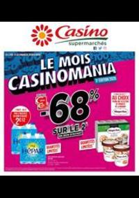 Prospectus Supermarchés Casino ST MAUR DES FOSSES : Le mois Casinomania