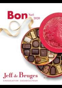 Prospectus Jeff de Bruges Paris 30 rue de l'annonciation : Bon Noël 2020