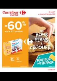 Prospectus Carrefour Market COLOMBES : Des bons plans à croquer